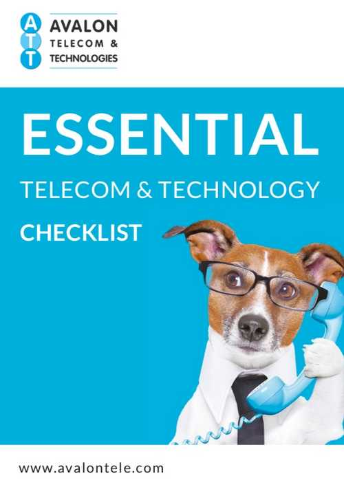 Avalon Telecom & Technologies checklist